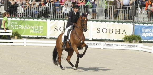 France have lost their Olympic qualification spot after the FEI Tribunal found Maxime Livio's horse Qalao des Mers had tested positive for a banned substance ©Normandie 2014