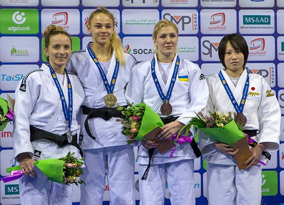 European champion Bilodid turns on style to take gold at IJF Grand Prix in Tunis
