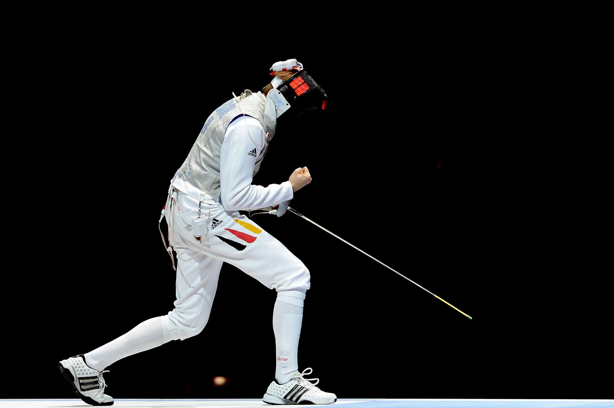 Beijing 2008 gold medallist Benjamin Kleibrink came through his group at the Challenge International de Paris ©Getty Images