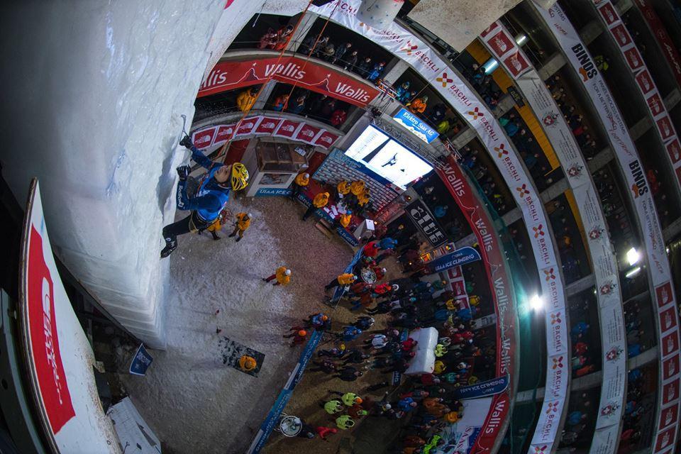 Russia dominate season-opening UIAA Ice Climbing World Tour event in Saas-Fee