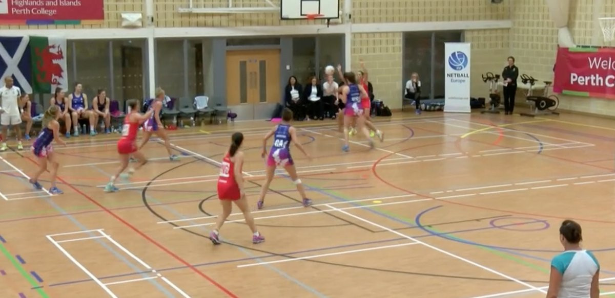 Scotland beat Wales 52-40 to put them in a strong position to qualify for next year's Netball World Cup ©Twitter