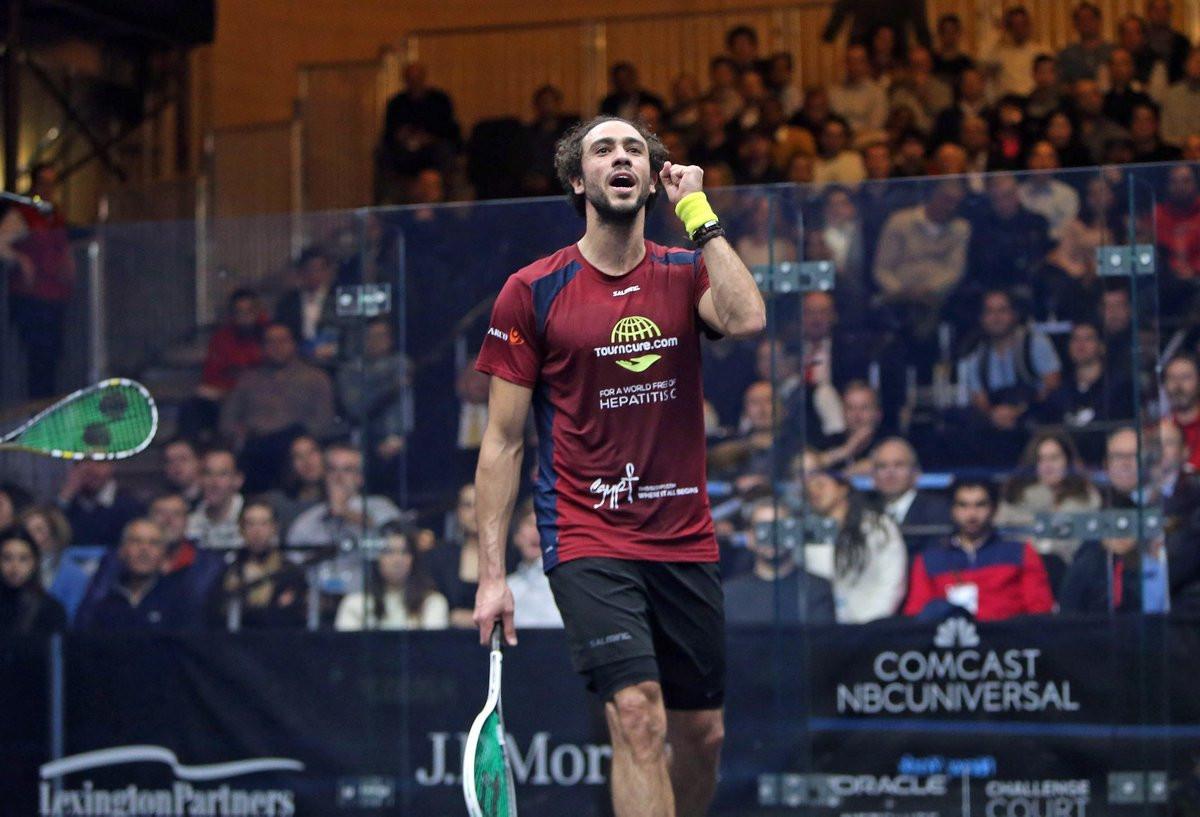Ashour makes winning return at PSA Tournament of Champions