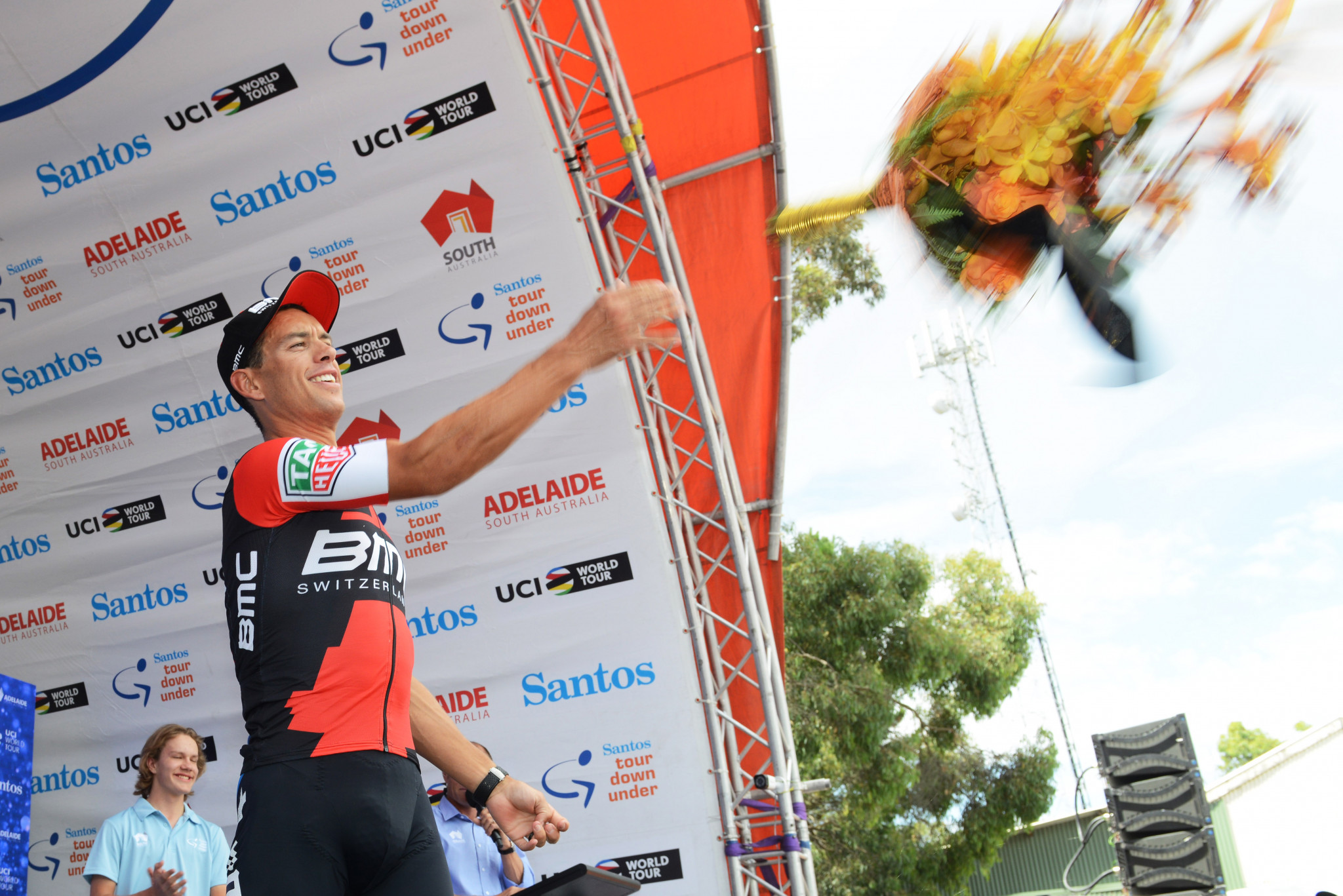 Porte wins Tour Down Under stage five but Impey takes overall lead