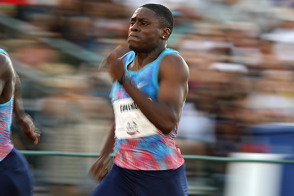 Christian Coleman breaks world indoor 60m record