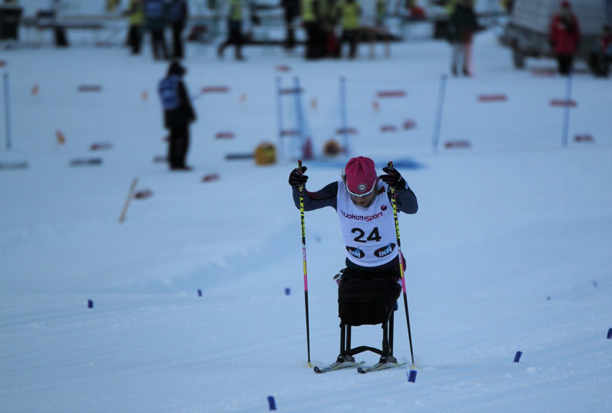 America's Oksana Masters lived up to her pre-race favourites billing by winning the women's sitting event at the World Para Nordic Skiing World Cup in Oberried ©Twitter