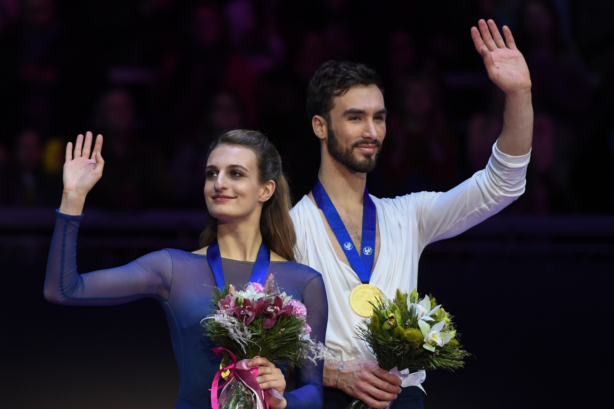 Gabriella Papadakis and Guillaume Cizeron have now won four consecutive European titles ©Getty Images