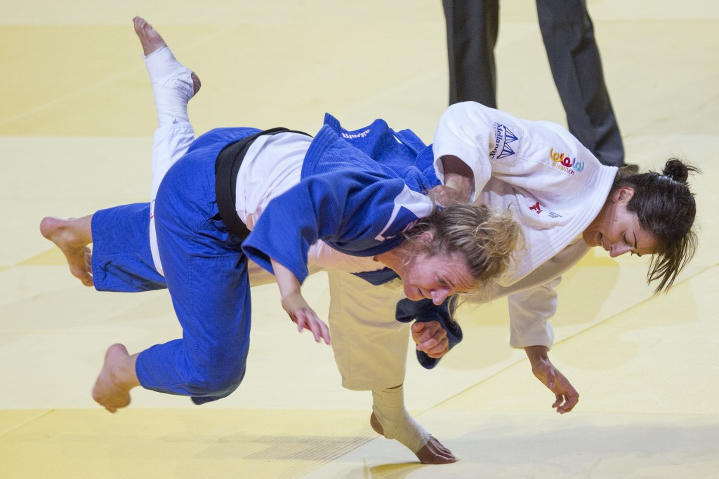 2015 World Judo Championships: Day four of competition