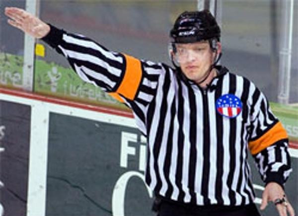 American Jonathan Morrison is among the referees and linesmen who will officiate the Para ice hockey at Pyeongchang 2018 ©Twitter