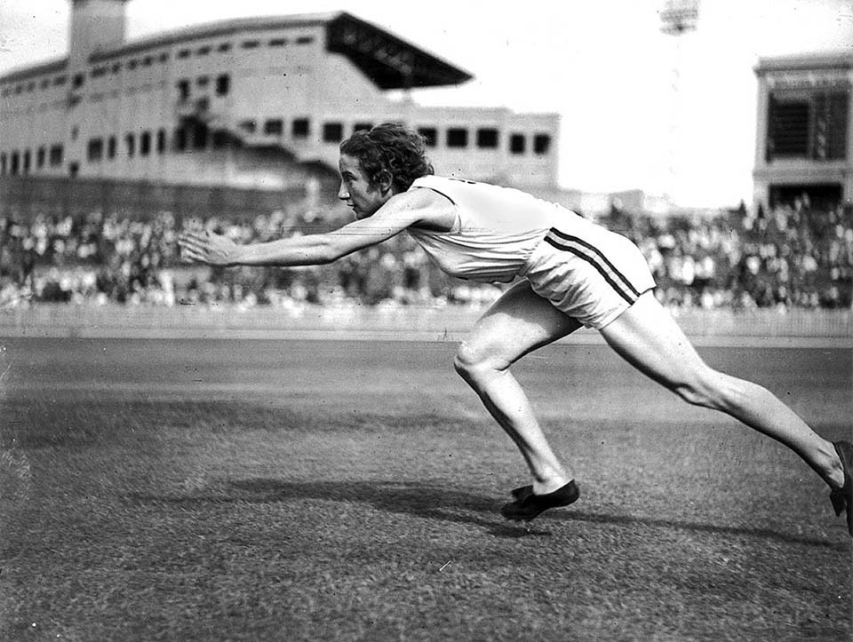 Only 88 women took part in the 1938 Empire Games but one of them, Australia's Decima Norman, was the biggest star, winning five gold medals ©Philip Barker