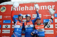 Italy's Fischnaller earns Luge World Cup win in Lillehammer - backed by Germany's doctor