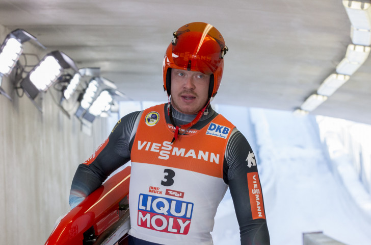 Fifth place in the Luge World Cup in Lillehammer today was enough to keep Germany's Olympic champion Felix Loch top of the overall rankings ©Getty Images