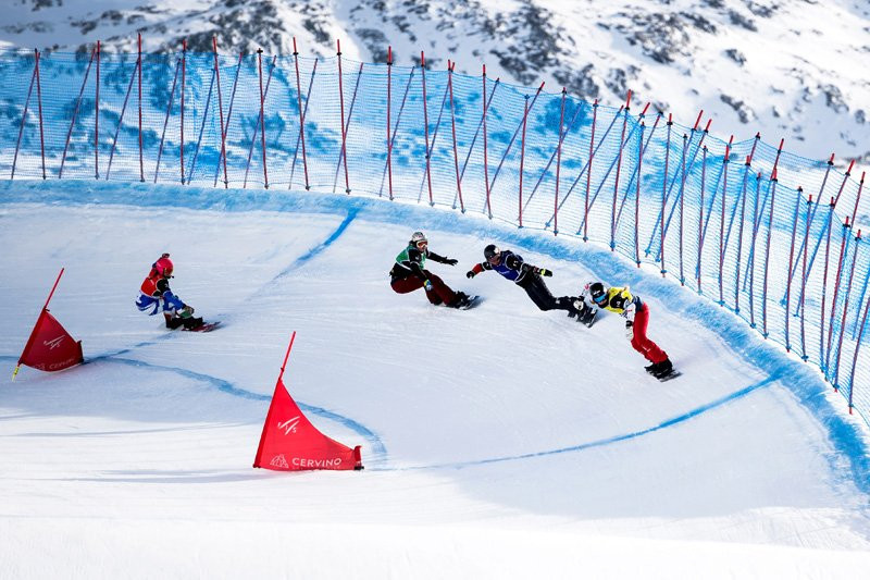 France dominate FIS Snowboard Cross World Cup team event