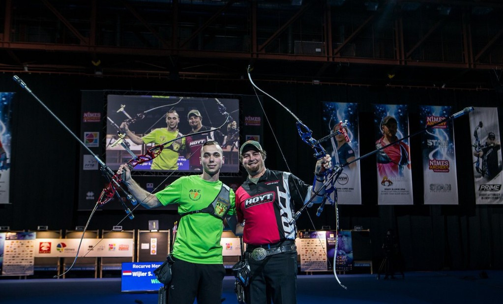 Youngster Wijler shocks Ellison to claim first Indoor Archery World Cup gold