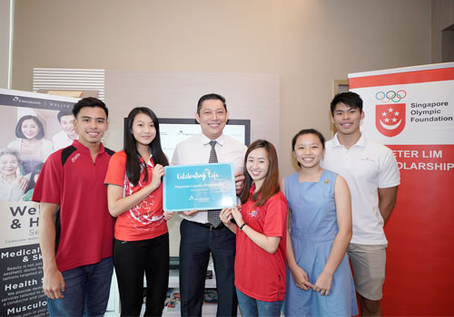 Private healthcare group to support Singapore Olympic Foundation scholarship holders