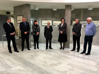 Polish Olympic Committee hosts architectural exhibition at headquarters building