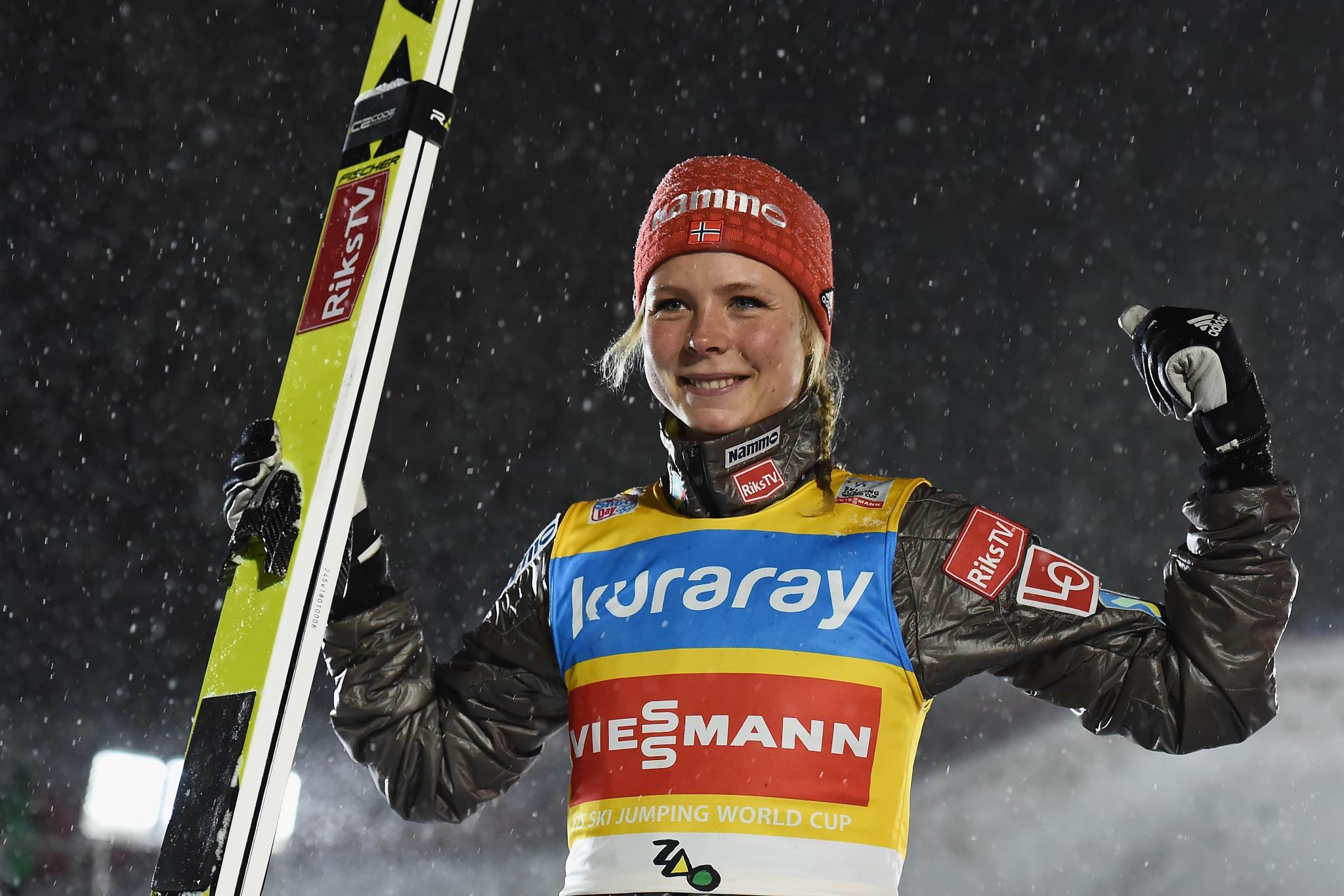 Lundby carries on FIS Ski Jumping World Cup winning streak in Zaō
