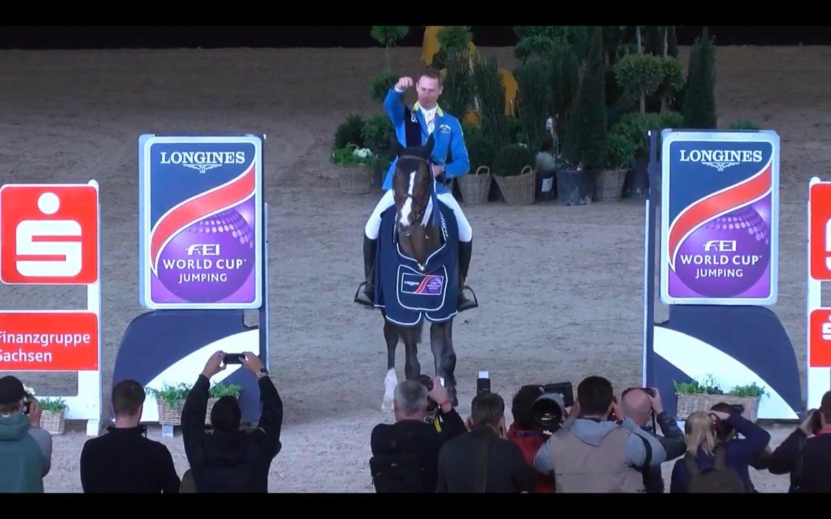 Taloubet Z ends career on a high as Ahlmann rides him to FEI World Cup Jumping Western European League title