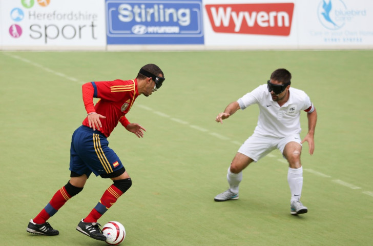 A lack of entries has forced the cancellation of next year's Under-23 Blind Football World Championships ©IBSA