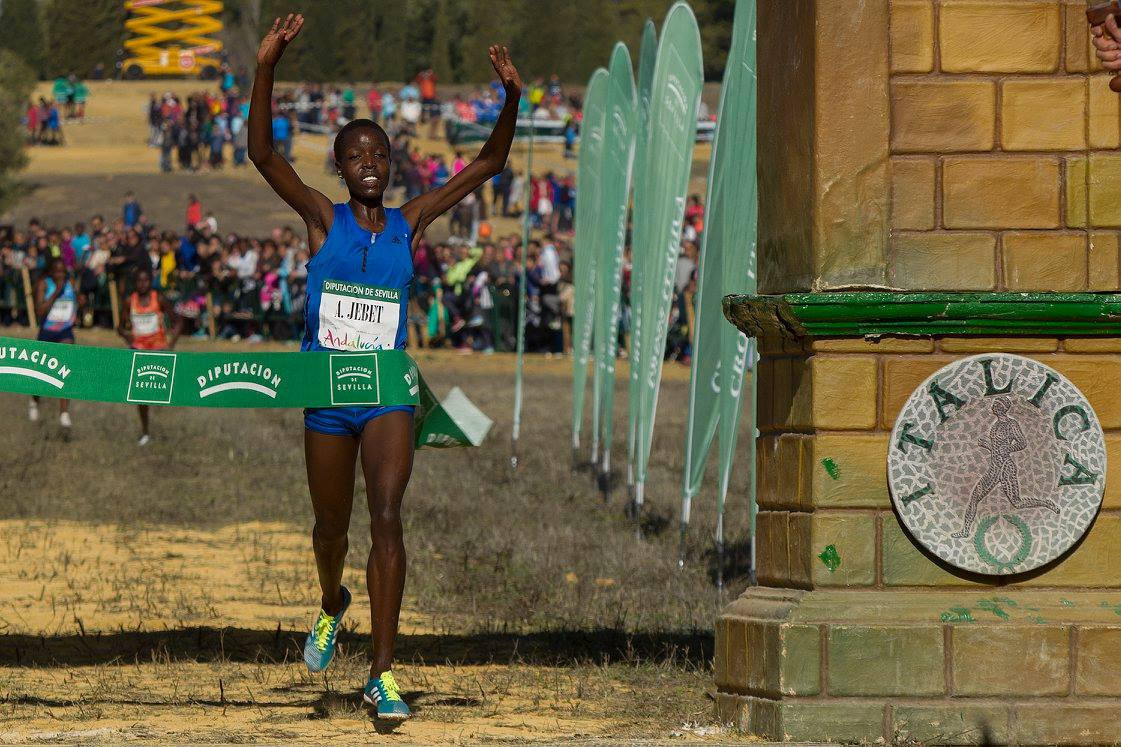 Cheptegei and Tirop end Barega and Jebet winning runs at IAAF Cross Country Permit race in Seville