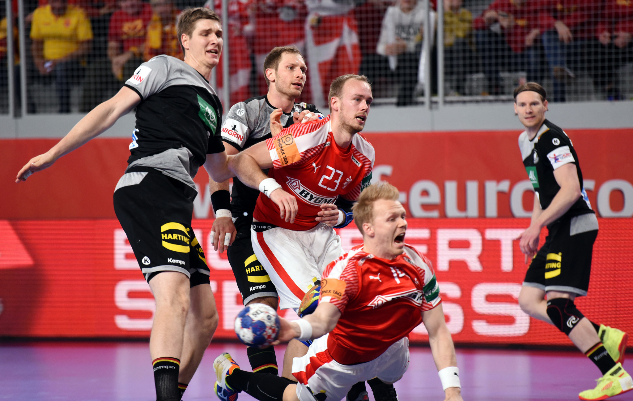 Holders Germany lose key match at European Men's Handball Championship