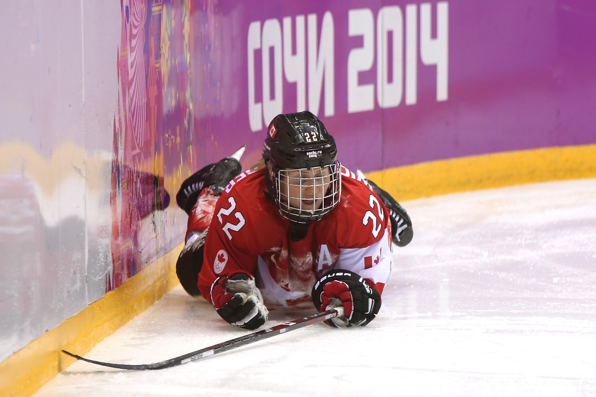 Hayley Wickenheiser has raised concerns about gender equality after the Pan-Korea decision ©Getty Images