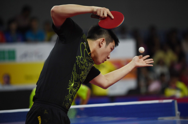 China's top seed Fan Zhendong won the ITTF Hungarian Open men's singles title a day before his 21st birthday ©ITTF