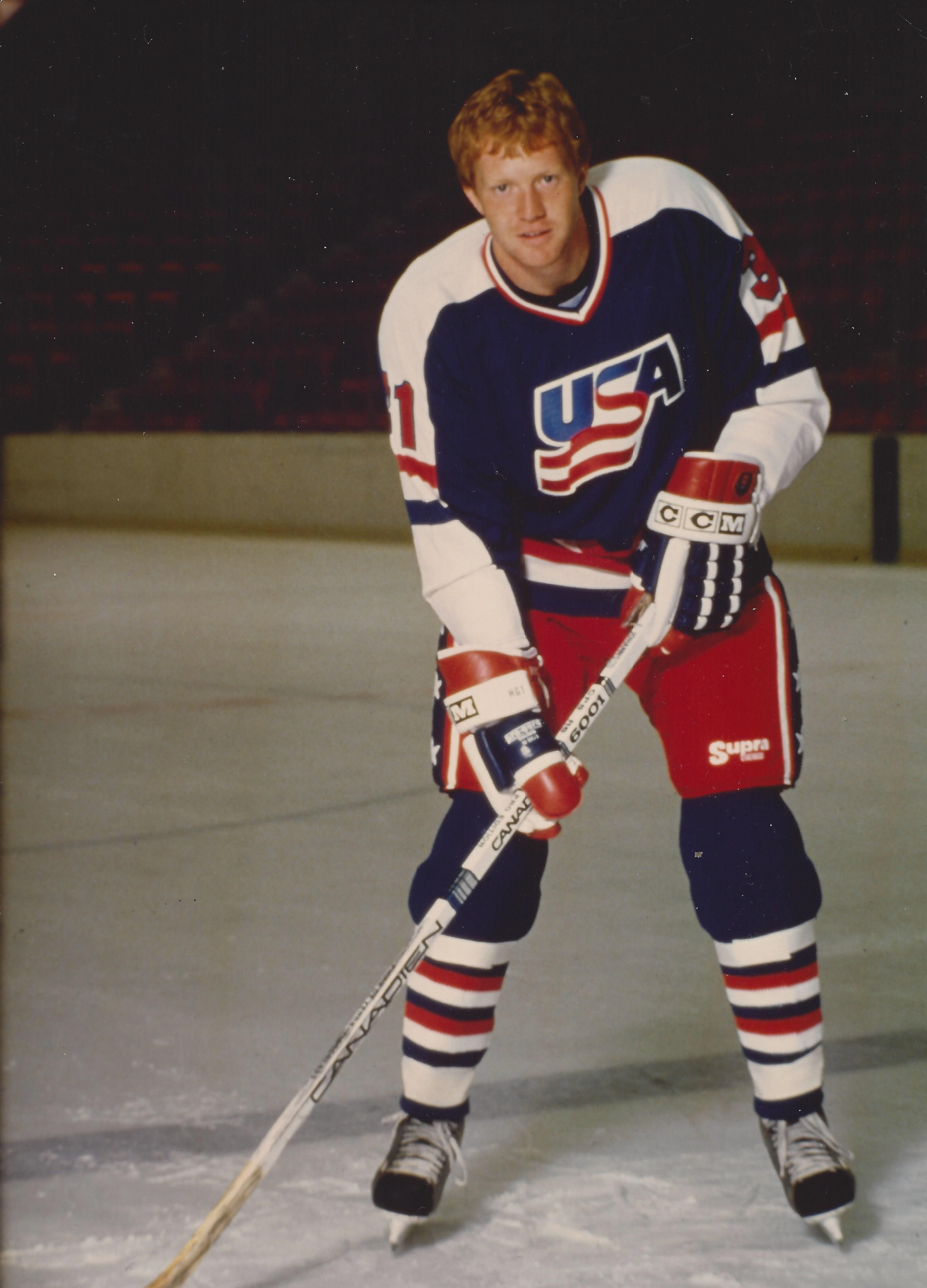 Jim Johannson had represented America at the 1988 and 1992 Winter Olympic Games in Calgary and Albertville ©Twitter