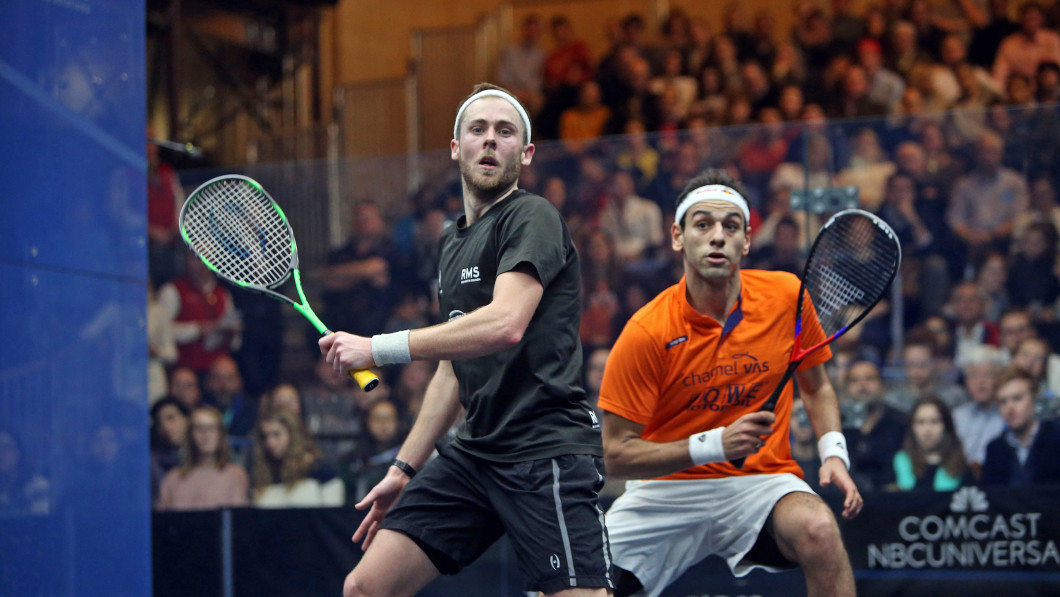 Cuskelly shocks world champion Elshorbagy at PSA Tournament of Champions