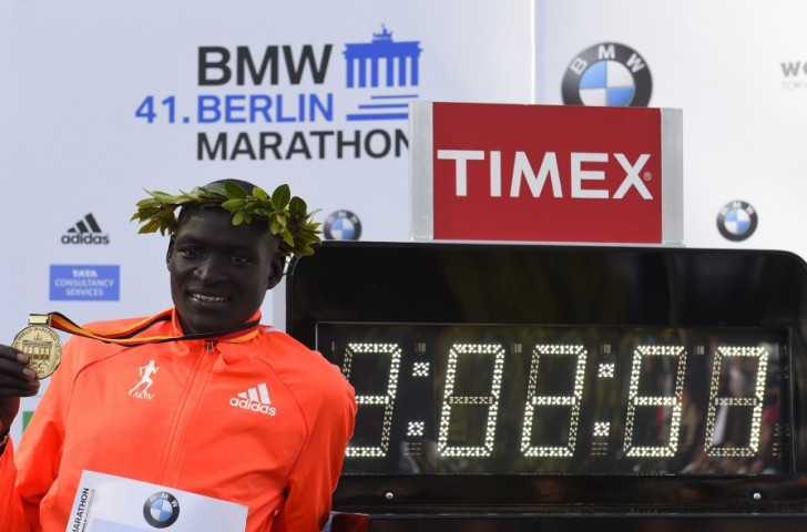 Kipsang's toughest challenge is expected to come from current world record holder Dennis Kimetto