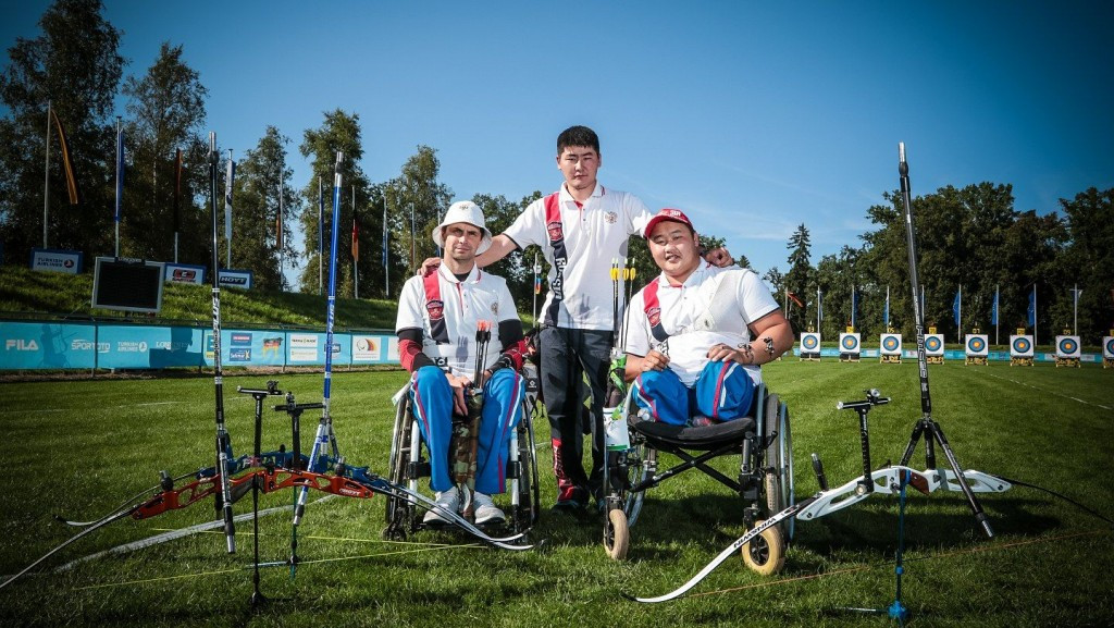 Another world record at World Archery Para Championships as Russia break recurve men's open mark