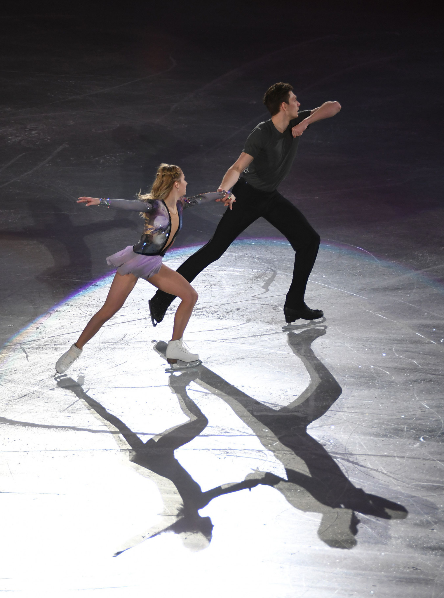 Ekaterina Alexandrovskaya and Harley Windsor of Australia will aim to impress in the pairs competition ©Getty Images