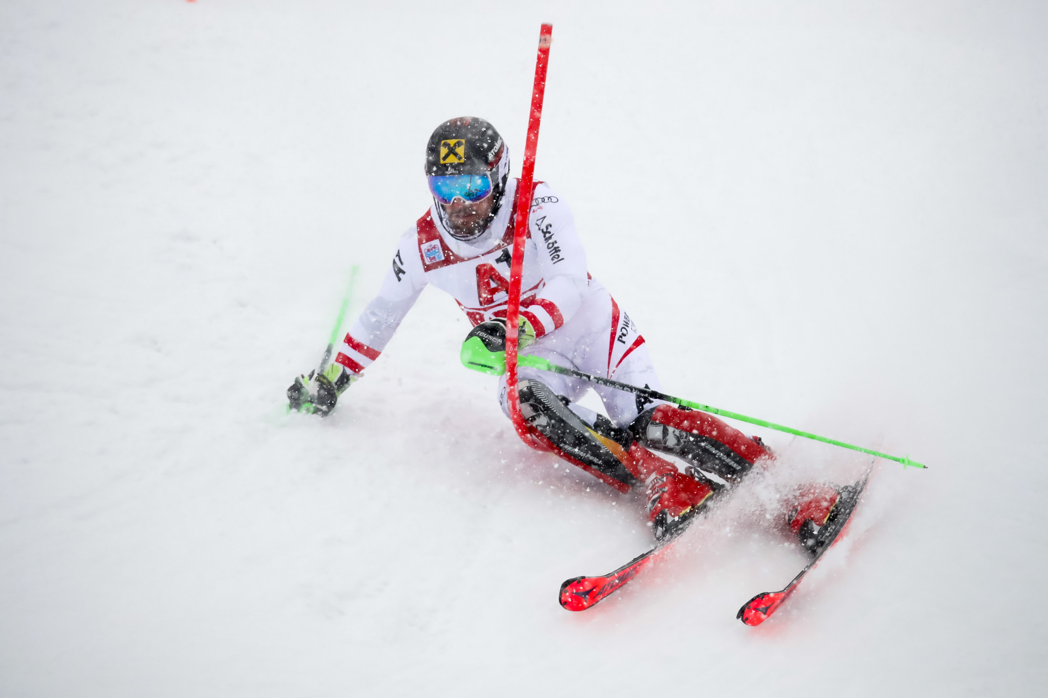 Marcel Hirscher will be a big draw on home snow in Schladming ©Getty Images