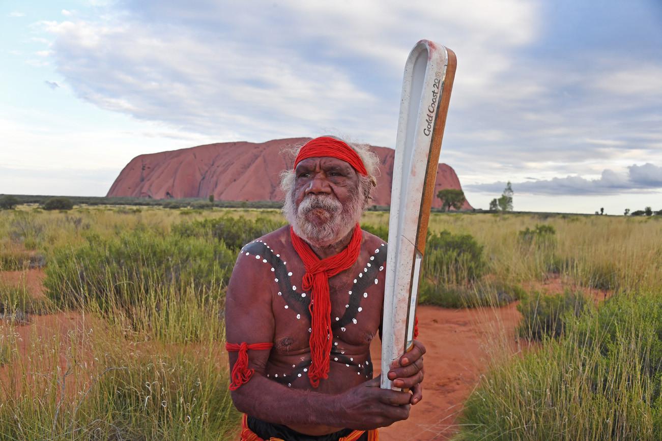 The Baton visisted the Uluru-Kata Tjuta National Park last week ©Gold Coast 2018