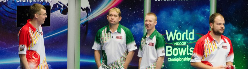 Chestney and Dawes upset favourites to win pairs title at World Indoor Bowls Championships