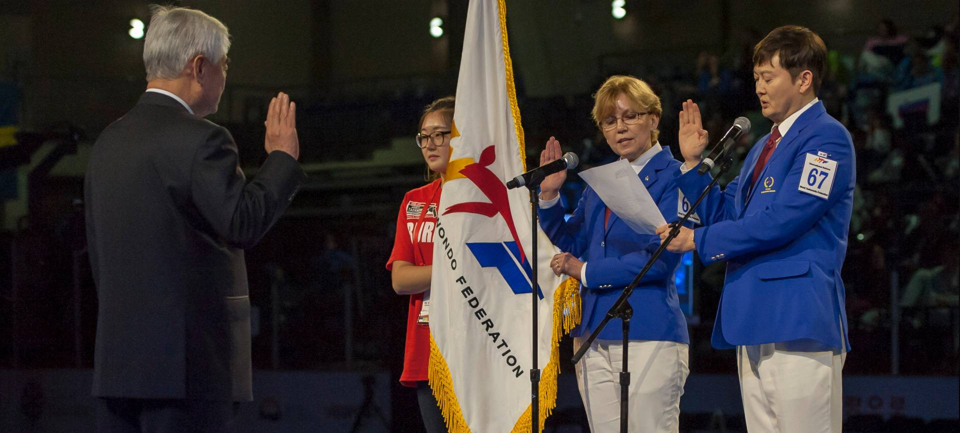 Marian appointed to Women in Taekwondo Committee