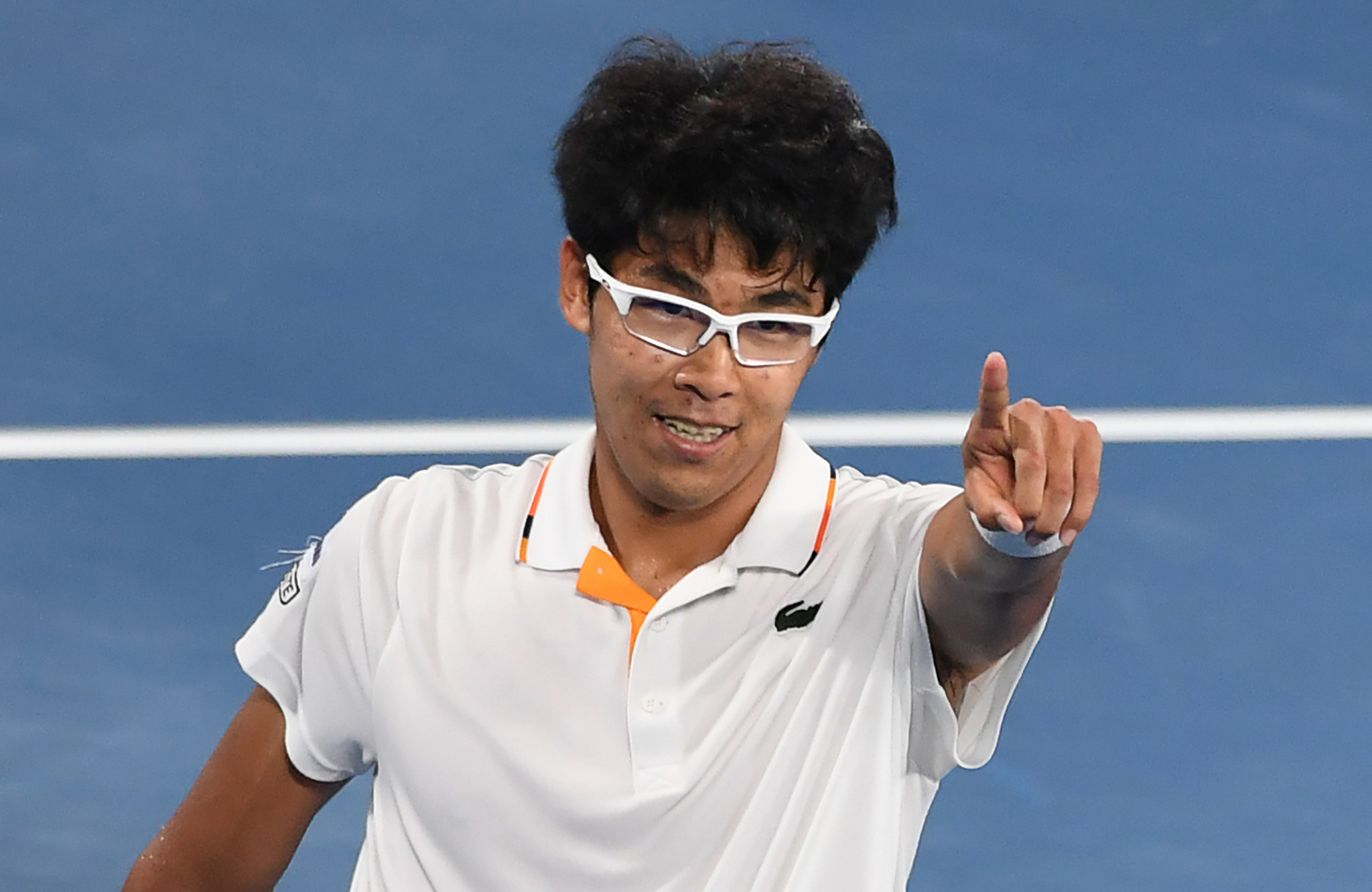 Unseeded Hyeon Chung stunned Novak Djokovic at the Australian Open ©Getty Images