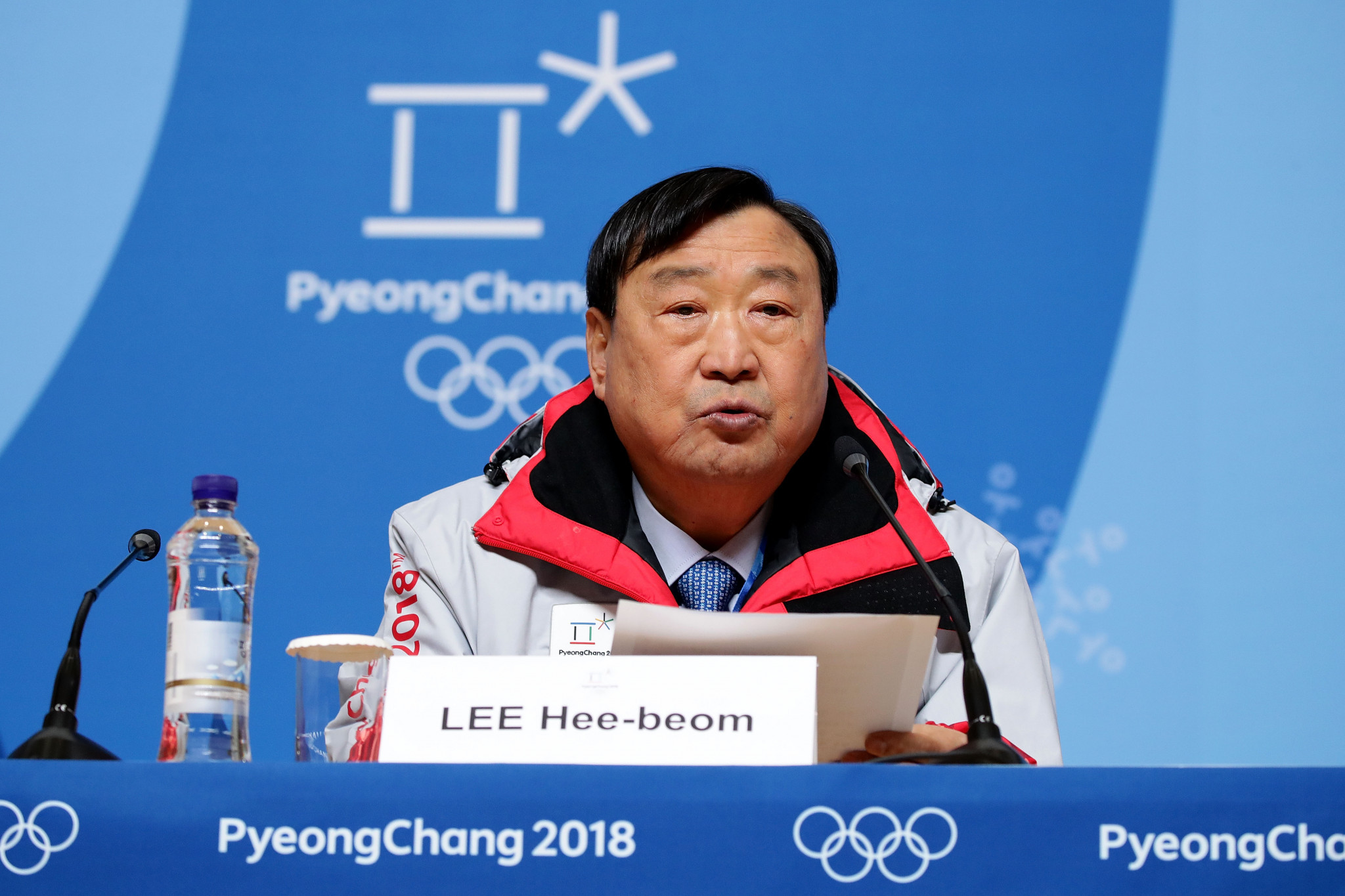 Pyeongchang 2018 President dismisses concerns over Korean unification flag at Opening Ceremony