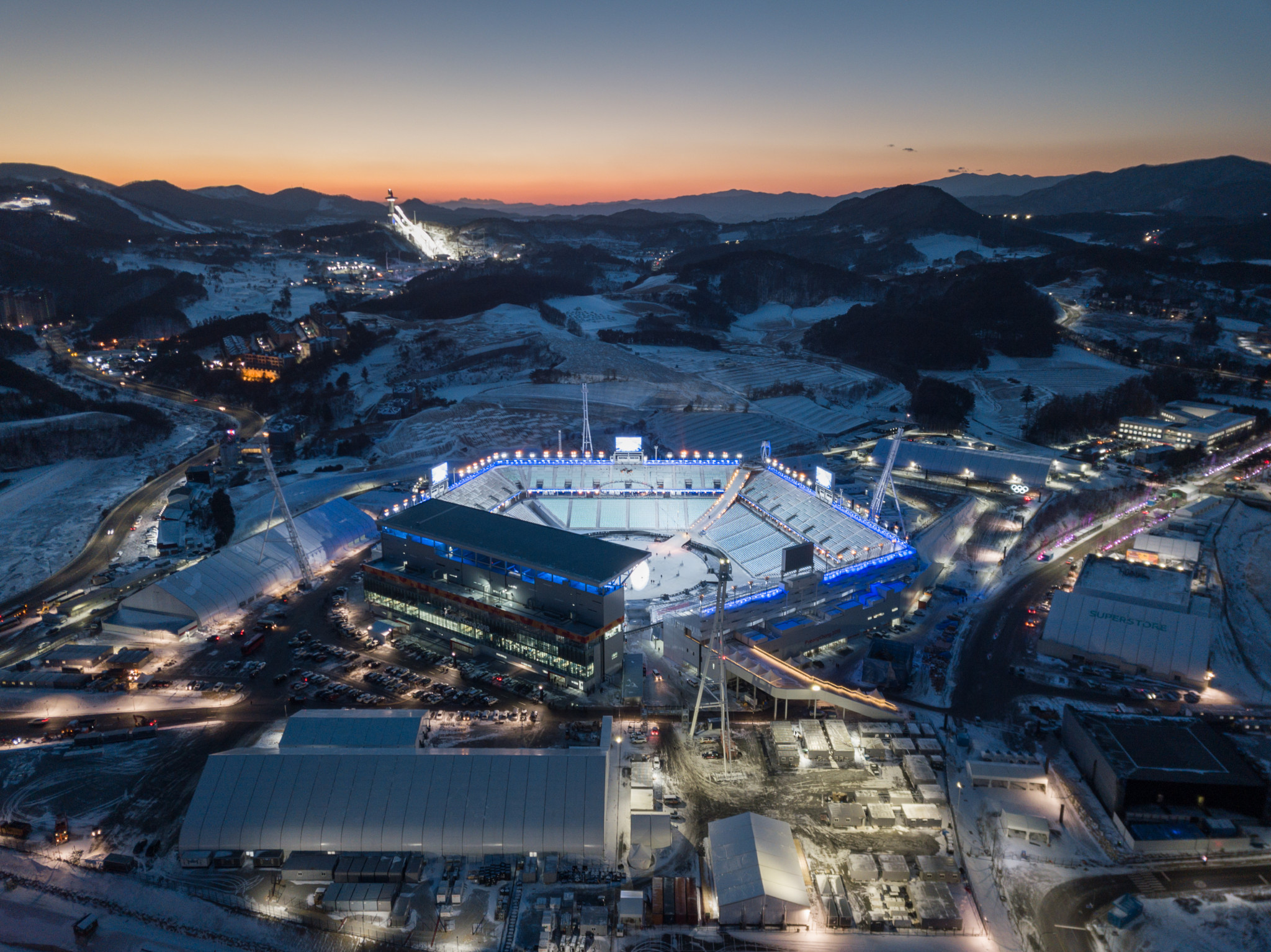 The Pyeongchang 2018 President has claimed they have not had to alter any of their other plans for the Opening Ceremony ©Getty Images
