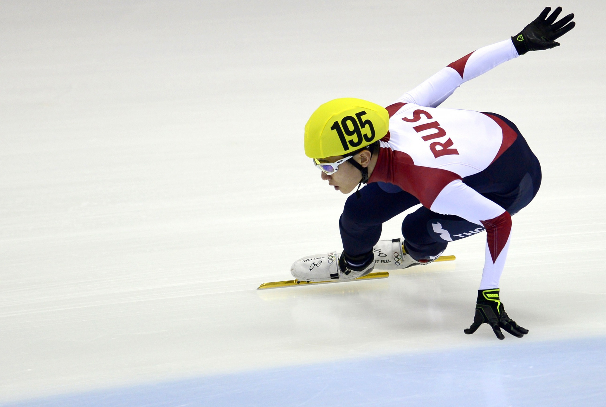 Viktor Ahn won three gold medals and one bronze representing Russia at Sochi 2014 ©Getty Images