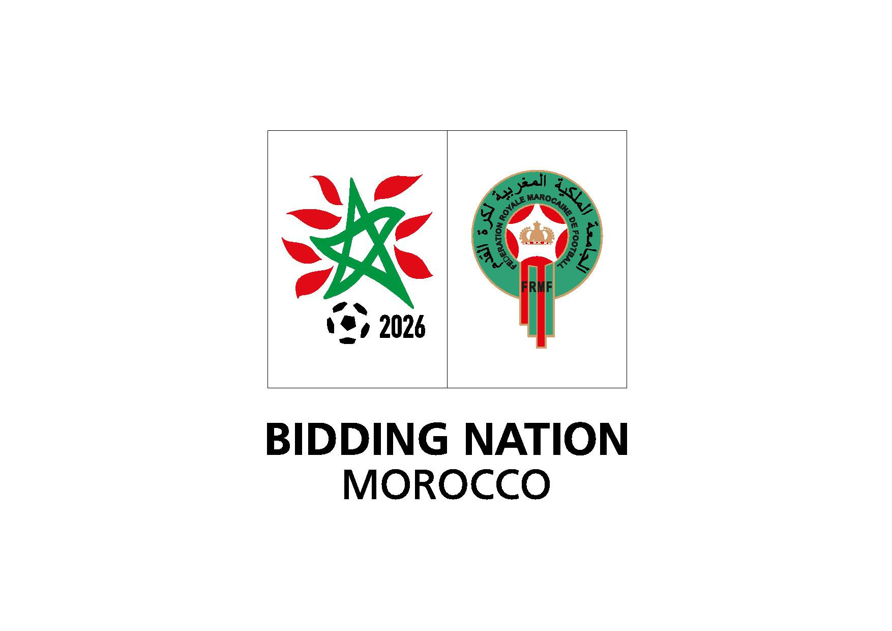 Morocco 2026 unveil bid team and logo with just over four months until FIFA select World Cup host