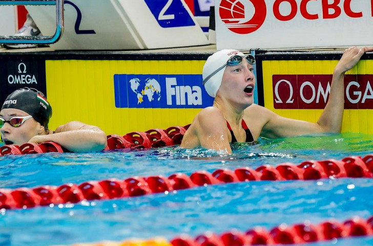 Taylor Ruck at the double on third day of FINA World Junior Championships