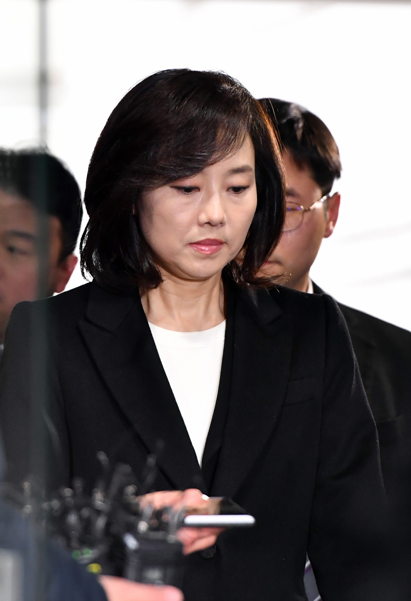 The appeals court convicted Cho Yoon-sun of involvement in the process of creating and managing the list of artists ©Getty Images
