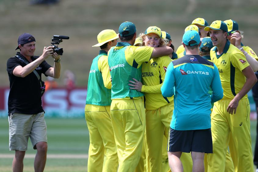Divine spell from Pope sends Australia through at ICC Under-19 World Cup