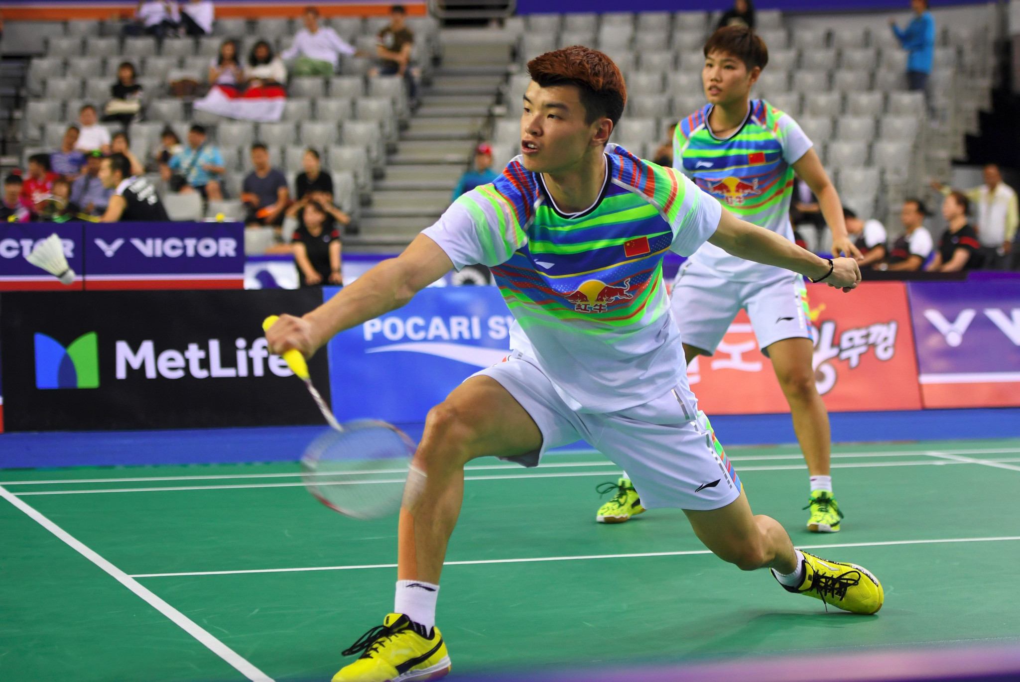 Chinese second seeds knocked out as mixed doubles opens BWF Indonesia Masters