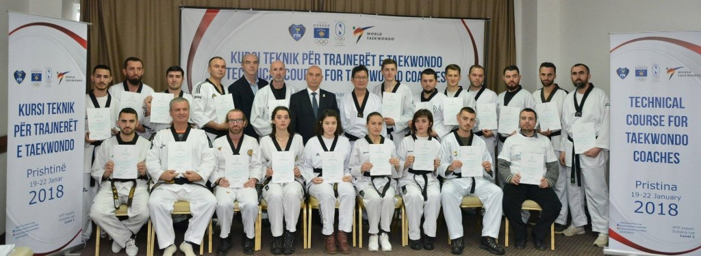Kosovo Taekwondo Federation hold first technical coaching course in Pristina