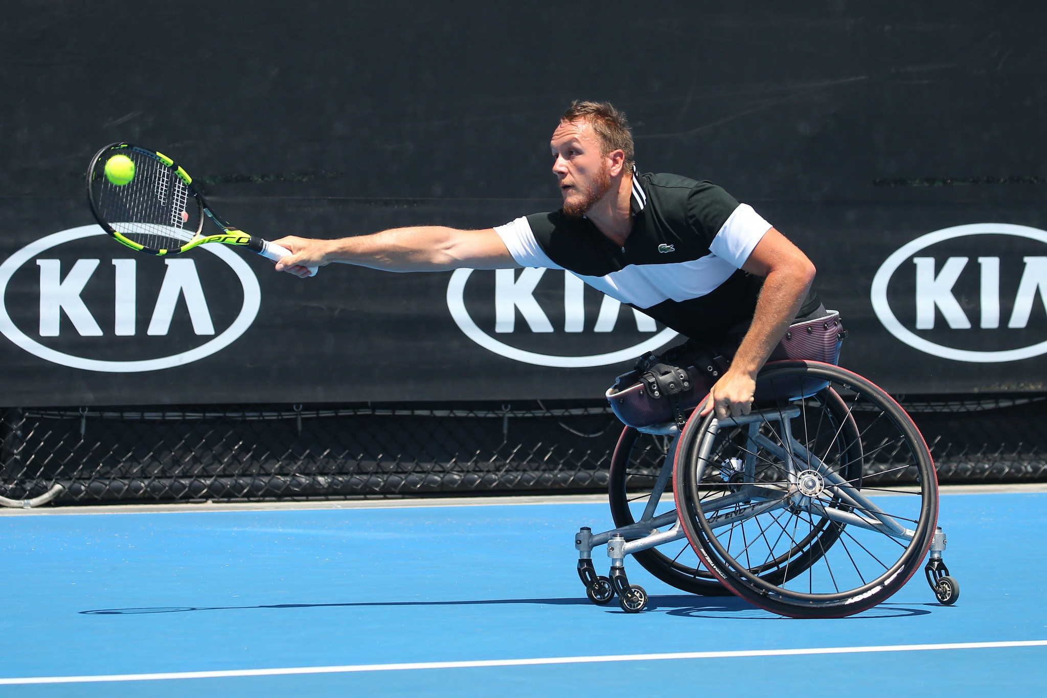 Fernandez suffers shock Australian Open wheelchair tennis defeat to lose world number one ranking