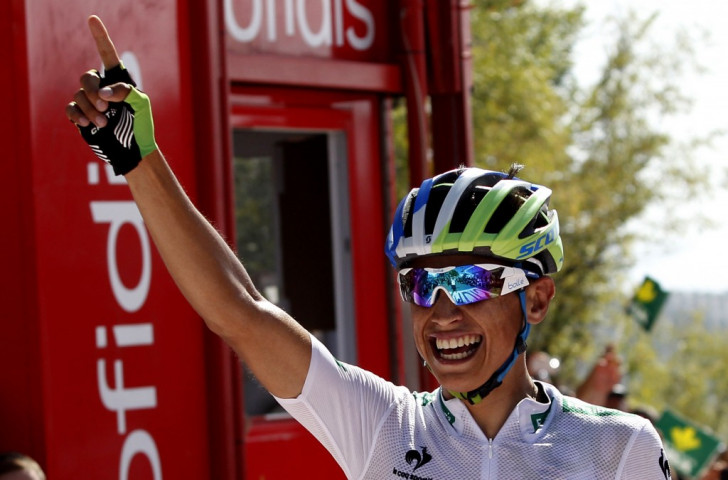 Chaves secures second stage victory to regain overall Vuelta a España lead