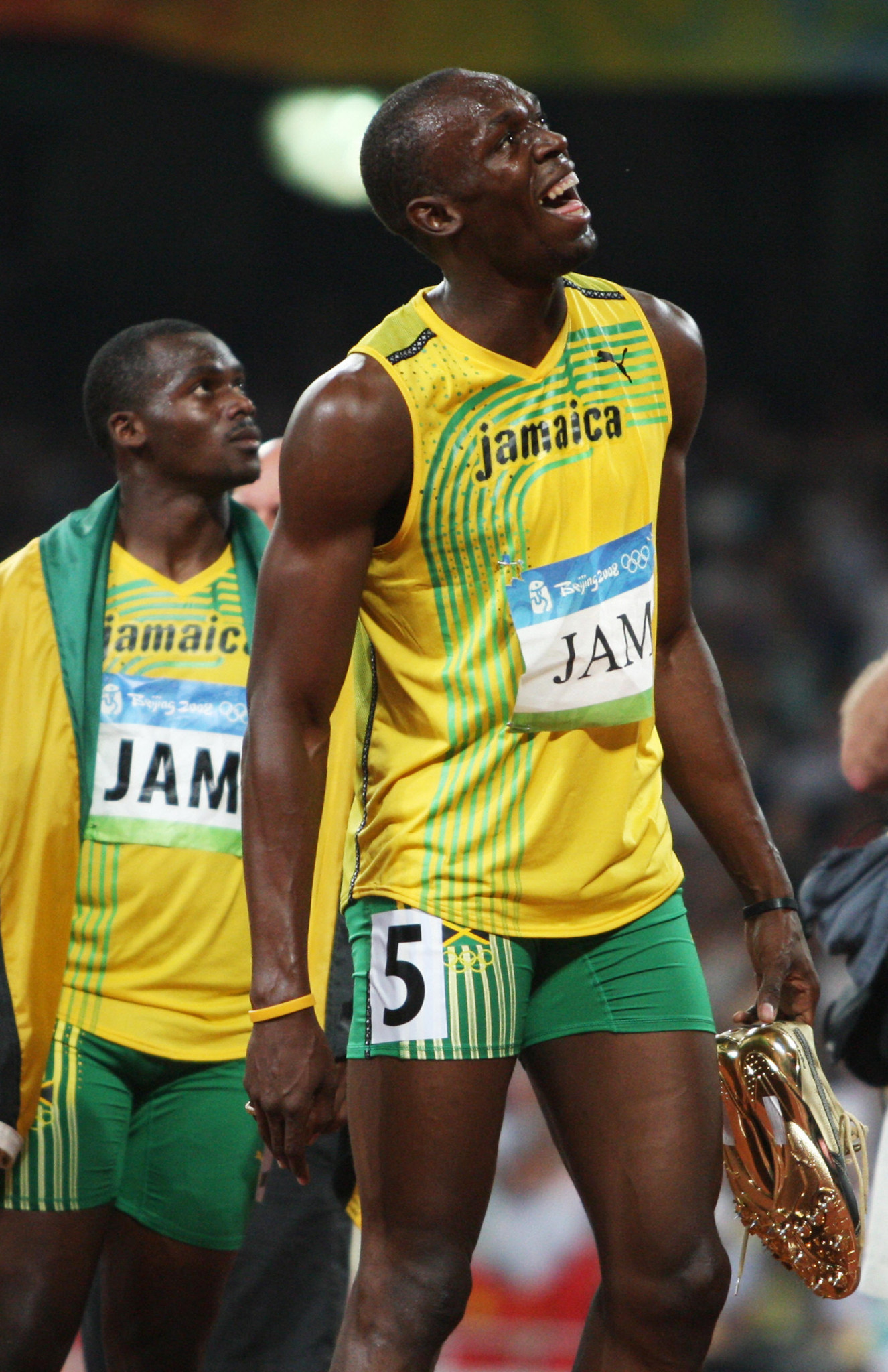 Sporting stars, such as Usain Bolt at Beijing 2008, usually steal back the limelight from political matters at the Olympic Games ©Getty Images