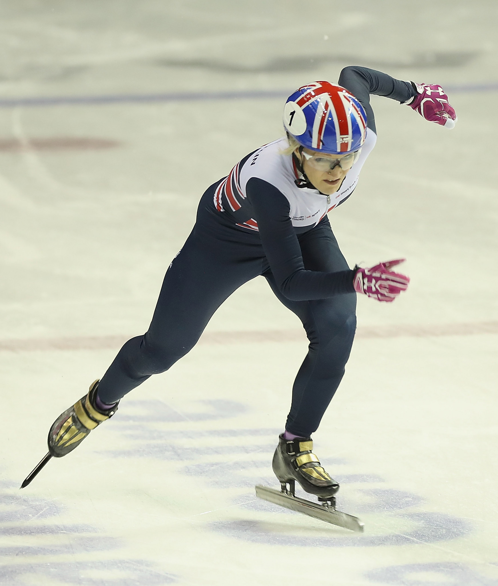 Britain's Pyeongchang 2018 focus will likely be on Elise Christie, with other countries diverting their eyes to to their own stories ©Getty Images