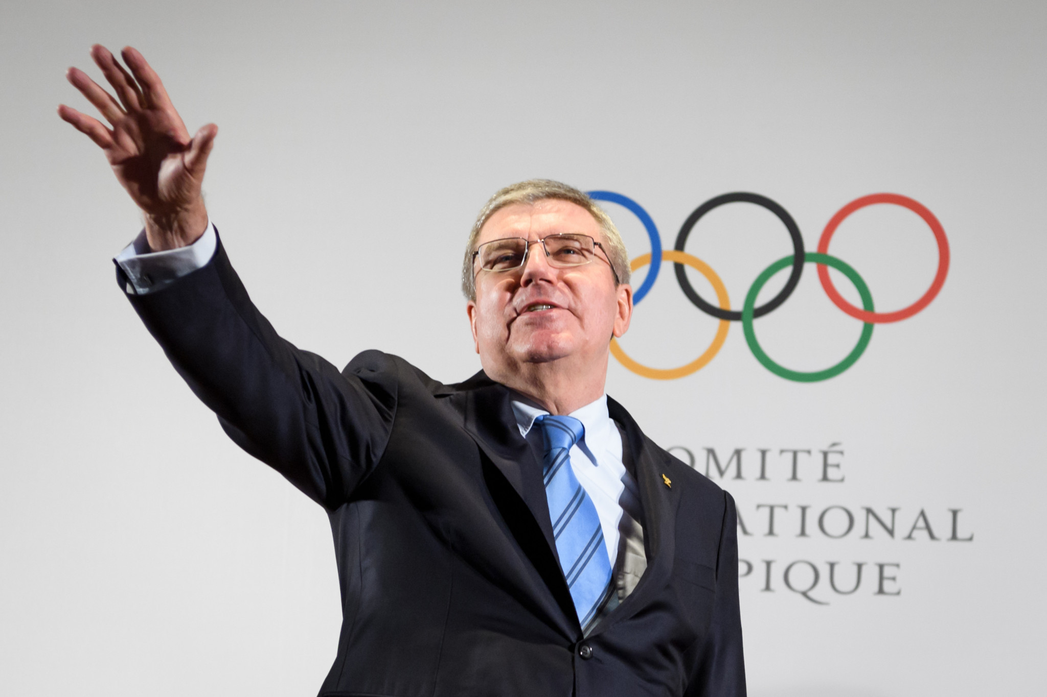 Thomas Bach has defended the IOC position today ©Getty Images